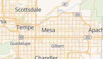 Carte en ligne de Mesa