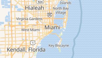 Carte en ligne de Miami