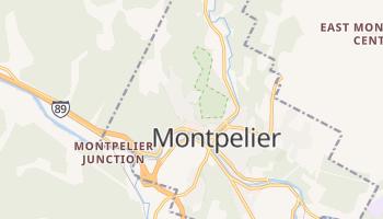 Carte en ligne de Montpelier