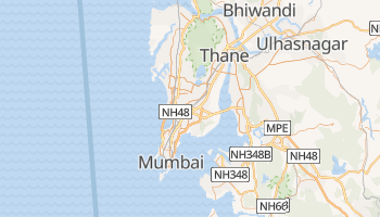 Carte en ligne de Mumbai
