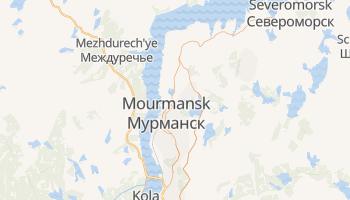 Carte en ligne de Mourmansk