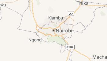 Carte en ligne de Nairobi