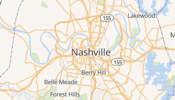 Carte en ligne de Nashville
