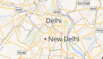 Carte en ligne de New Delhi