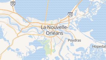 Carte en ligne de La Nouvelle-Orléans