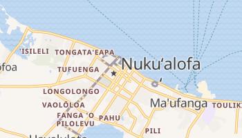 Carte en ligne de Nuku'alofa