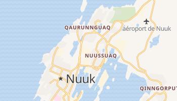 Carte en ligne de Nuuk