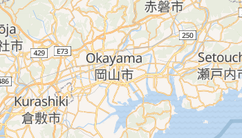 Carte en ligne de Okayama