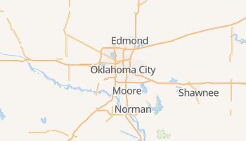 Carte en ligne de Oklahoma City