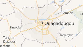 Carte en ligne de Ouagadougou