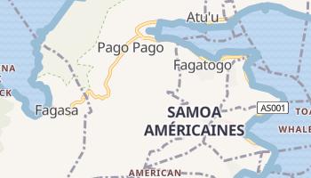 Carte en ligne de Pago Pago