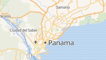 Carte en ligne de Panama