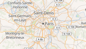 Carte en ligne de Paris