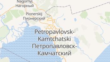 Carte en ligne de Petropavlovsk-Kamtchatski