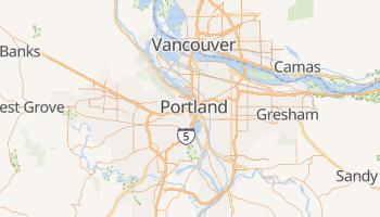 Carte en ligne de Portland