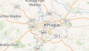 Carte en ligne de Prague