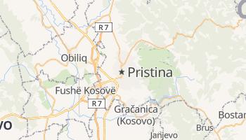Carte en ligne de Pristina