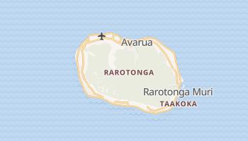 Carte en ligne de Rarotonga