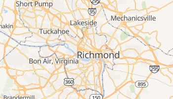 Carte en ligne de Richmond
