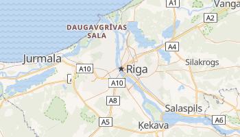 Carte en ligne de Riga