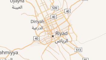 Carte en ligne de Riyad