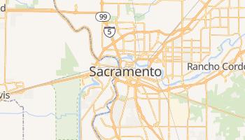 Carte en ligne de Sacramento