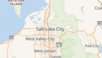 Carte en ligne de Salt Lake City