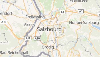Carte en ligne de Salzbourg