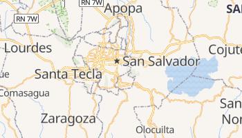 Carte en ligne de San Salvador