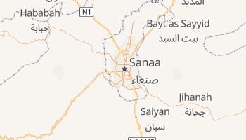 Carte en ligne de Sanaa