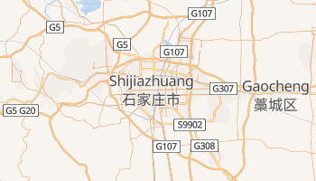 Carte en ligne de Shijiazhuang