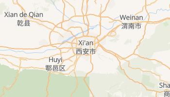 Carte en ligne de Si-ngan