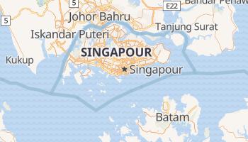 Carte en ligne de Singapour