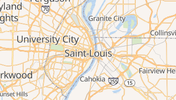 Carte en ligne de Saint Louis
