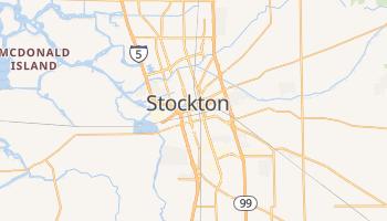 Carte en ligne de Stockton