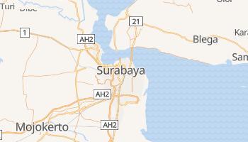 Carte en ligne de Surabaya