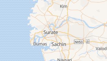 Carte en ligne de Surat
