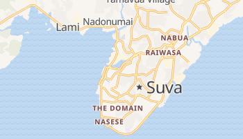 Carte en ligne de Suva