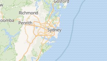 Carte en ligne de Sydney