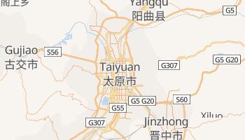 Carte en ligne de Taï-Yuan