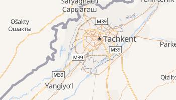 Carte en ligne de Tachkent