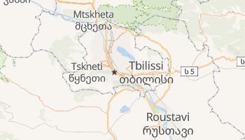 Carte en ligne de Tbilissi