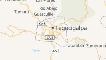 Carte en ligne de Tegucigalpa