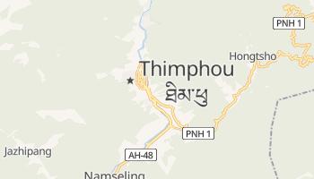 Carte en ligne de Thimphou