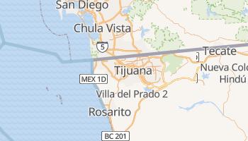 Carte en ligne de Tijuana