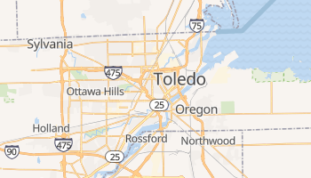 Carte en ligne de Toledo