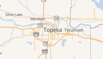 Carte en ligne de Topeka
