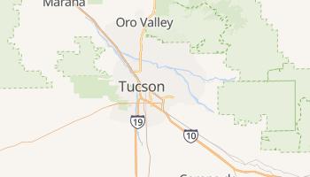 Carte en ligne de Tucson