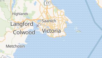 Carte en ligne de Victoria