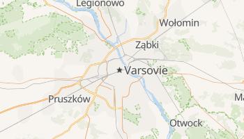 Carte en ligne de Varsovie
